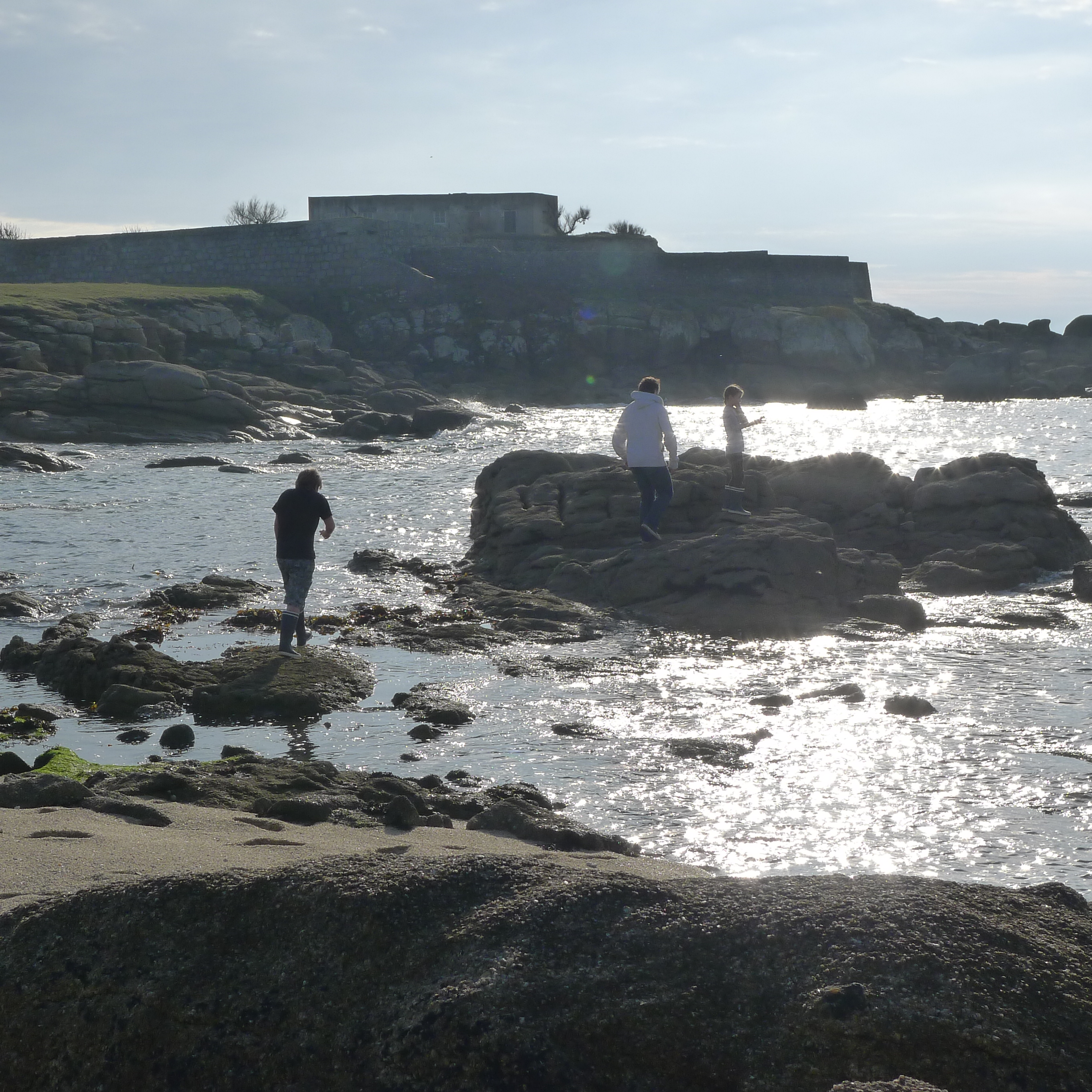 Wild swimming the beach house france - Point p concarneau ...